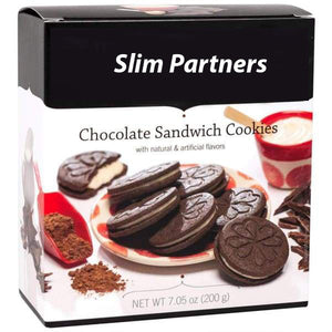 Chocolate Sandwich Protein Diet Cookies (7/Box)