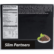 Load image into Gallery viewer, Slim Partners Protein Bars, Cocoa Mint
