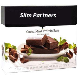 Slim Partners Protein Bars, Cocoa Mint (Cases)