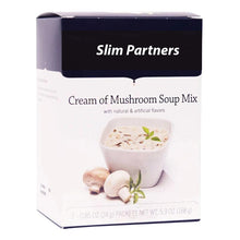 Load image into Gallery viewer, High Protein Soup, Cream of Mushroom (7/Box)