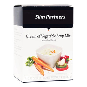 High Protein Soup, Cream of Vegetable (7/Box)