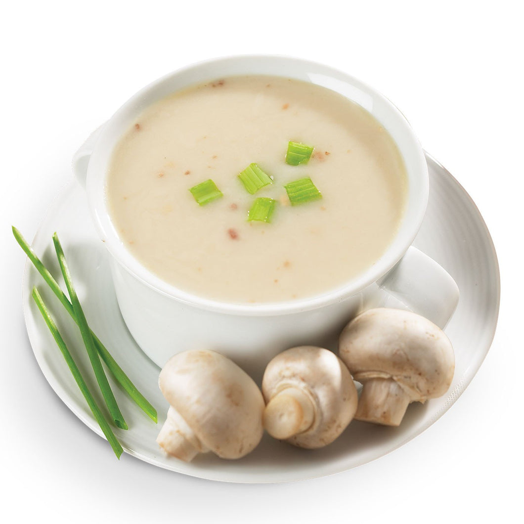 High Protein Soup, Cream of Mushroom (7/Box)