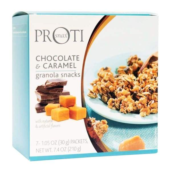 Chocolate & Caramel Granola Diet Snacks (7/Box)