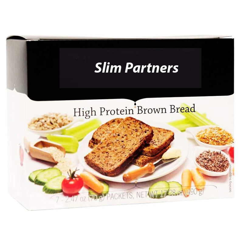 Healthy High Protein Brown Bread (7/Box)