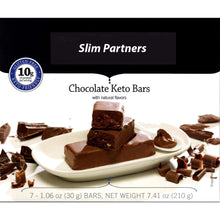 Load image into Gallery viewer, Slim Partners Protein Bars, Keto chocolate (Case)