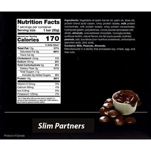 Slim Partners Protein Bars, Keto chocolate (Case)