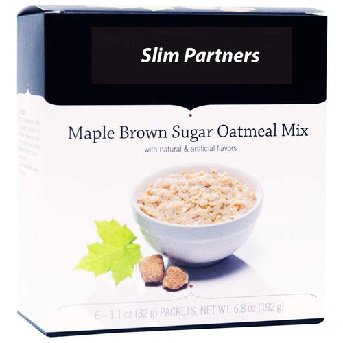 High Protein Oatmeal, Maple Brown Sugar (6/Box)