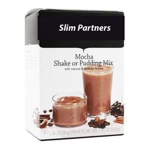 Meal Replacement Protein Shake / Pudding, Mocha (7/Box)