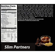 Load image into Gallery viewer, Slim Partners Protein Bars, Nutty Caramel Crunch