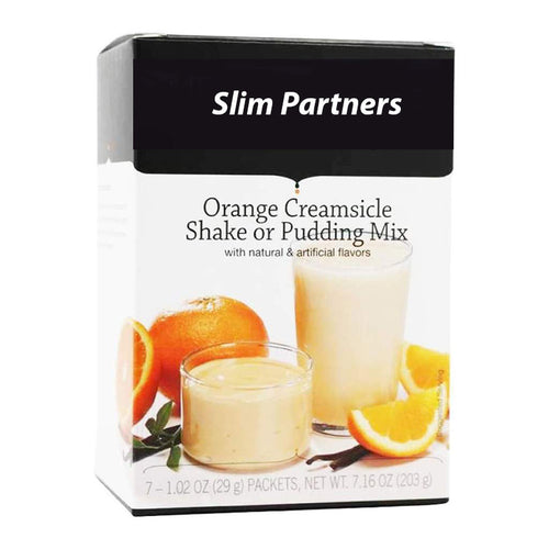 Meal Replacement Protein Shake / Pudding, Orange Creamsicle (7/Box)