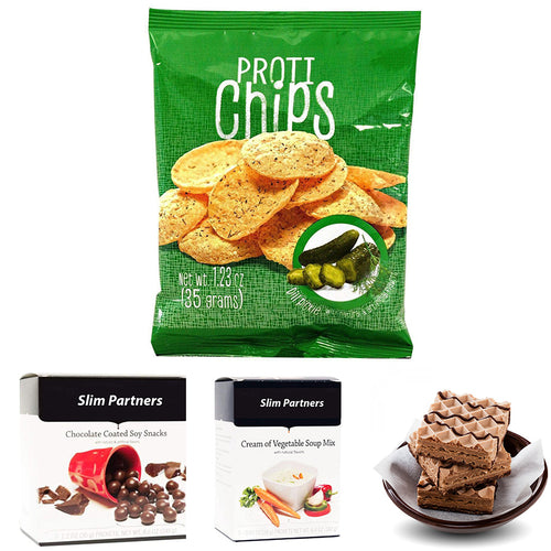 Samples of Protein Snacks