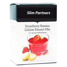 Load image into Gallery viewer, Strawberry Banana Diet Protein Gelatin (7/Box)