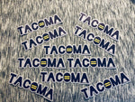 Tacoma Equality All Weather Vinyl Decal