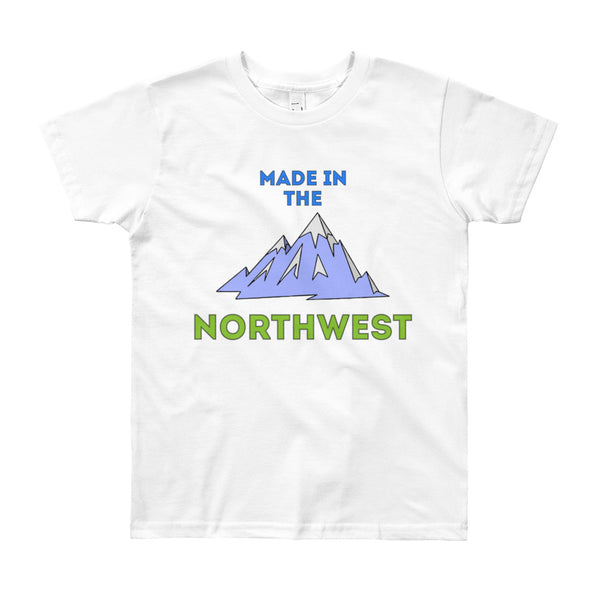 Made in the Northwest Big Kid's Tee