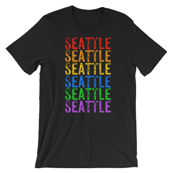 Seattle Rainbow Tee