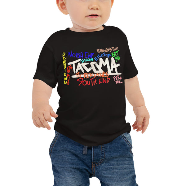 Baby Tacoma Neighborhoods Tee