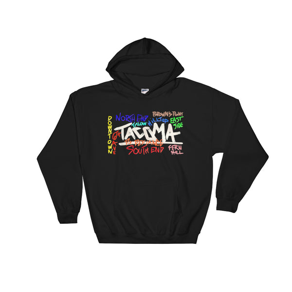 Tacoma Neighborhood Pullover Hoodie
