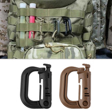 Load image into Gallery viewer, 1pc D Shape Climbing Carabiner Screw Lock Bottle