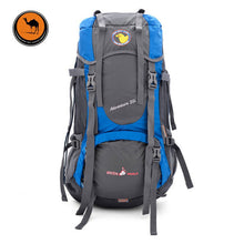 Load image into Gallery viewer, 55L Large Capacity Outdoor Backpack Camping