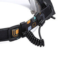 Load image into Gallery viewer, LED Rechargable Focus Headlamp Camping Head Torch