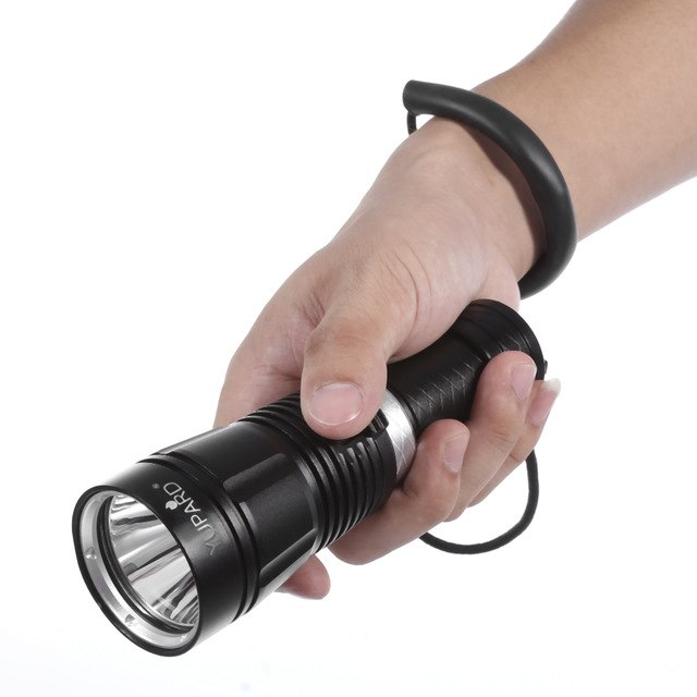 New Diving LED Flashlight 500M Waterproof