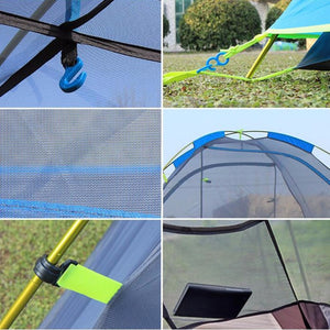New Two Person Tent Double Wall Extent Outdoor