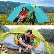 Load image into Gallery viewer, New Two Person Tent Double Wall Extent Outdoor