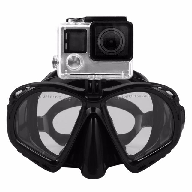 Professional Underwater Diving Mask Scuba Snorkel