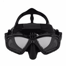 Load image into Gallery viewer, Professional Underwater Diving Mask Scuba Snorkel
