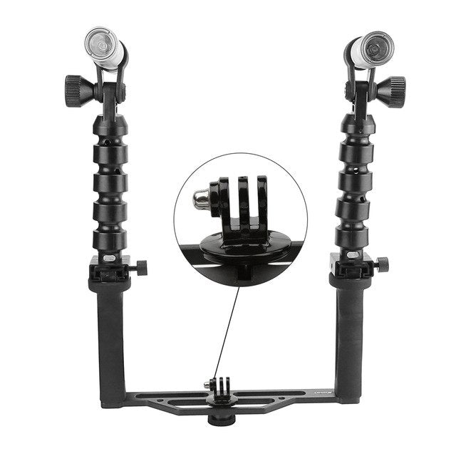Diving Lighting Set for GoPro hero 6 5 4 3