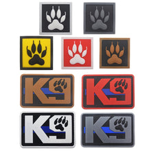 Load image into Gallery viewer, K9 Dog Trainning PVC Patch Armband Badge Military Tactical Morale Decorative Patches Sewing Applique Embellishment
