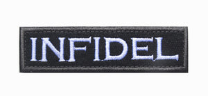 Military Army Tactical Infidel Patch Molon Labe Sheepdog GOD TRUST We People SI VIS Dont Tread Morale Skull Patch Emblem BADGE