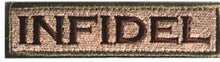 Load image into Gallery viewer, Military Army Tactical Infidel Patch Molon Labe Sheepdog GOD TRUST We People SI VIS Dont Tread Morale Skull Patch Emblem BADGE