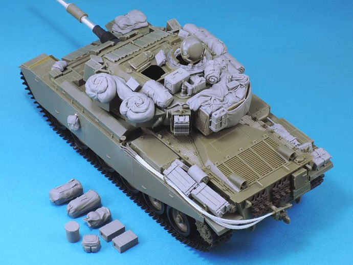 1/35 Modern Israeli Centurion main battle tank bag  toy Resin Model Miniature Kit unassembly Unpainted