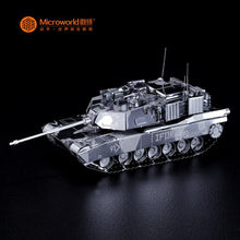 Load image into Gallery viewer, M1 ABRAMS TANK model DIY laser cutting Jigsaw puzzle model 3D Nano metal Puzzle Toys for adult Gift with free shipping