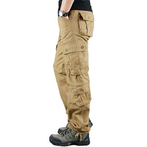 Overalls fashion casual men trousers loose straight work pants outdoor sports pants jeans labor protection Cargo Pants