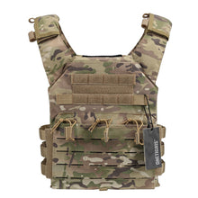 Load image into Gallery viewer, OneTigris Tactical Laser-Cut JPC Vest Light-Weight MOLLE Lazer Special Plate Carrier Hunting Vest for Paintball Airsoft