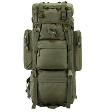 Load image into Gallery viewer, 70 L Metal Bracket Backpack Outdoor Sports Bag Military Tactical Bags Hiking Camping Waterproof  Wear-resisting Nylon Bag D033
