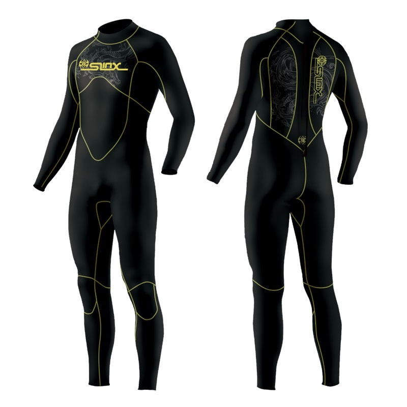 5mm Neoprene Scuba Dive Wetsuit For Men Spearfishing Wet Suit Surf Diving Equipment Split Suits Spear Fishing S-XXL