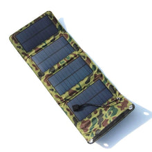 Load image into Gallery viewer, Universal 7W 5.5V Portable Folding Solar Panel Foldable Solar panel Charger Charging Battery Mobile Cell Phone Charger