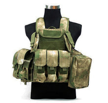 Load image into Gallery viewer, Tactical Vest Molle CIRAS Airsoft Combat Vest W/Magazine Pouch Releasable Armor Plate Carrier Strike Vests Hunting Clothes Gear