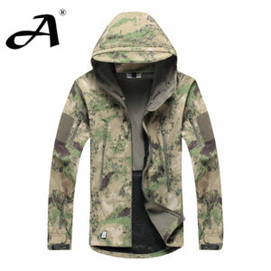 Army Camouflage Coat Military Jacket Waterproof Windbreaker Raincoat Clothes Army Jacket Men Jackets And Coats