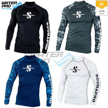 Load image into Gallery viewer, Scubapro RASH GUARD LONG SLEEVE UPF 50 MEN Snorkeling Diving Scuba Water Sports