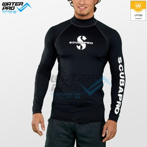 Scubapro RASH GUARD LONG SLEEVE UPF 50 MEN Snorkeling Diving Scuba Water Sports