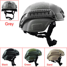 Load image into Gallery viewer, Military Tactical Helmet Cover Airsoft Helmet Paintball Fast Jumping Protective Accessories Face Mask CS Combat Helmet