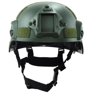 Military Tactical Helmet Cover Airsoft Helmet Paintball Fast Jumping Protective Accessories Face Mask CS Combat Helmet
