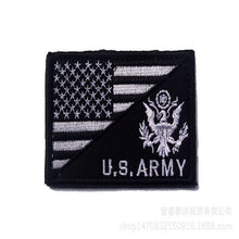 Load image into Gallery viewer, 5pcs/lot 8*5cm Fashion military hat badge usa tactical patch emboridry patch for jeans US army morale patches with flag design