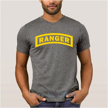 Load image into Gallery viewer, Regular Tshirt For Men La Maxpa 2018 Breathable T Shirt Us Army Ranger Regular T-Shirt Spring Plus Size 3xl Gents
