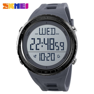 SKMEI Men Sport Watch Outdoor Swimming Diving Digital Watch Electronic Wrist Watches Waterproof Man Hour Clock Relogio Masculino
