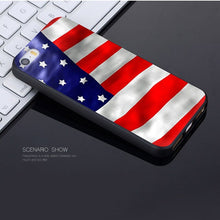 Load image into Gallery viewer, MaiYaCa American flag Novelty Fundas Phone Case Cover for Apple iPhone 8 7 6 6S Plus X 5 5S SE 5C Cover